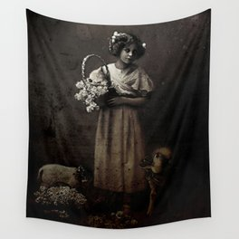 Like Lambs to the Slaughter Wall Tapestry