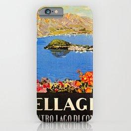 Italy Bellagio Lake Como iPhone Case