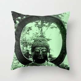 Buddha Peace. Throw Pillow