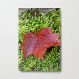 On the bright side Metal Print