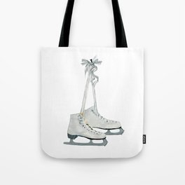 Figure skates Tote Bag