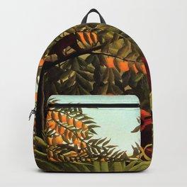 "Henri Rousseau ""Apes in the Orange Grove"" Backpack"
