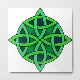 celtic knot symbol Metal Print