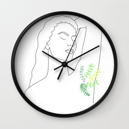 Grow Natural Wall Clock