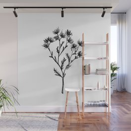 Wild Carrot Wildflower Wall Mural