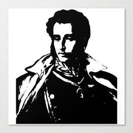 Napo in Black and White Canvas Print