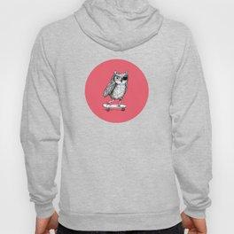 Ride On Owl_pink Hoody