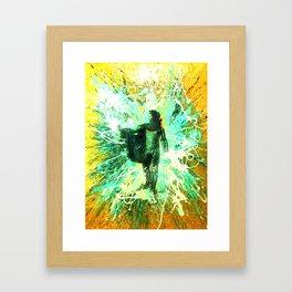 """""""Helios"""" the Sun god Apollo Framed Art Print"""