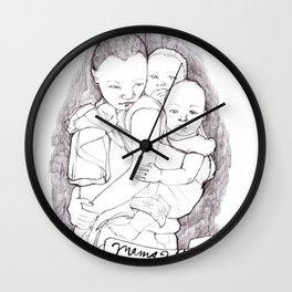 Mama Africa Wall Clock