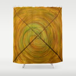 Right On Target, A Little Off Course Shower Curtain