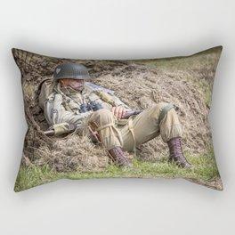 Time out. Rectangular Pillow