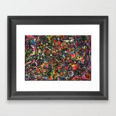 Overstocked Lake Framed Art Print