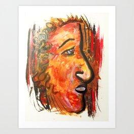 """Redskin"" Art Print"