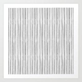 Minimal Pattern :: Lines Art Print