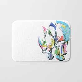 Rhino colour Bath Mat