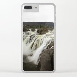 Shoshone Falls Idaho Clear iPhone Case