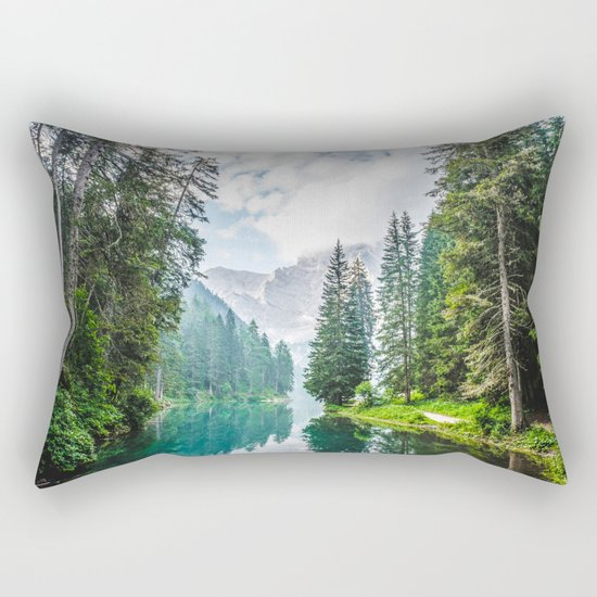 The Place To Be Rectangular Pillow
