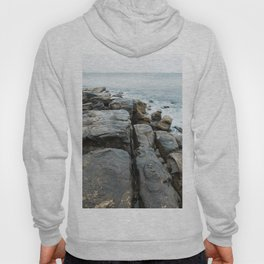 Beachside Rock Formation at Manly Beach, Sydney Hoody