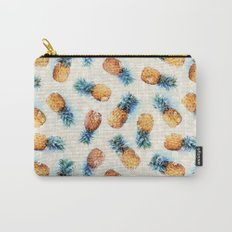 Pineapples + Crystals  Carry-All Pouch