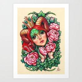 Titania Stigmata Art Print