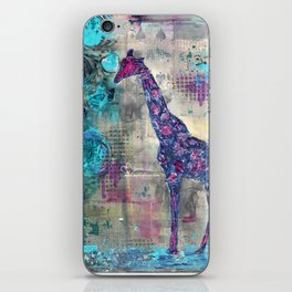 Majestic Series: Giraffe having a berry iPhone Skin