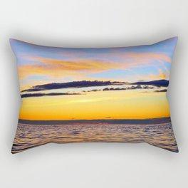 Zen Seascape Rectangular Pillow