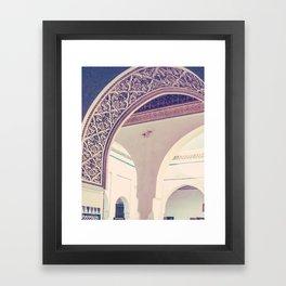 Bahia Palace Moroccan Arches Fine Art Print Framed Art Print