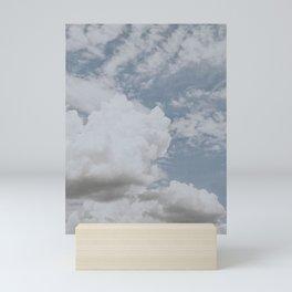 summer clouds ii Mini Art Print