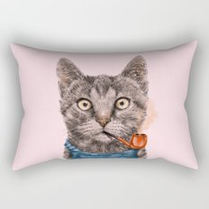 Sailor Cat IX Rectangular Pillow