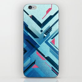 Geometric - Collage Love iPhone Skin