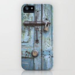 Old Door iPhone Case