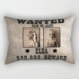 Elsa - Wanted Rectangular Pillow