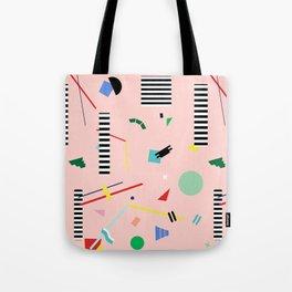 Memphis Geometry Lesson Tote Bag