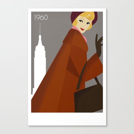 New York 1960 Canvas Print
