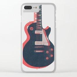 Rock! 01 Clear iPhone Case