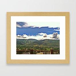 A Colorado View (Arrowhead Mtn) 2011 Framed Art Print