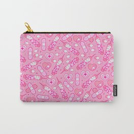 Kawaii Menhera on Pink Carry-All Pouch