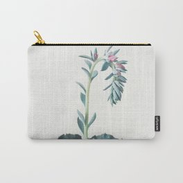Flowering Succulent II Carry-All Pouch