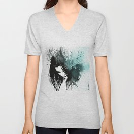 This Confession Means Nothing: Turquoise Unisex V-Neck