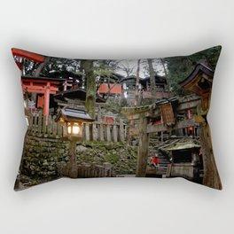 Fushimi Inari Shrine at Dusk Rectangular Pillow