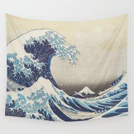HD Original Great Wave Off Kanagawa Wall Tapestry