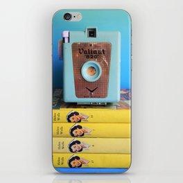 Cherry Ames & Vintage Camera iPhone Skin