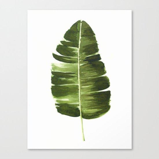 Nature leaves II Canvas Print