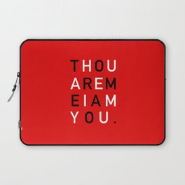 THE GREETING Laptop Sleeve