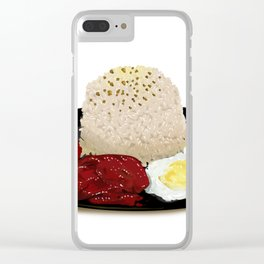 Tocilog (tocino, egg, fried rice) -filipino food Clear iPhone Case
