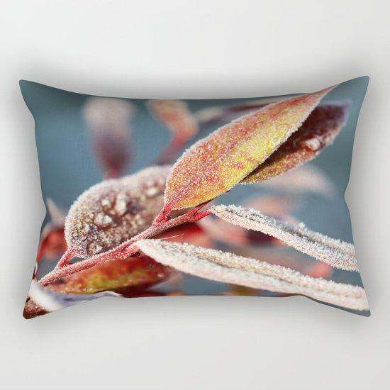 Winter leafs Rectangular Pillow