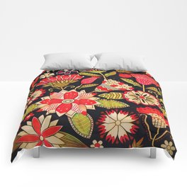 Blooms Butterflies and Ladybugs Comforters