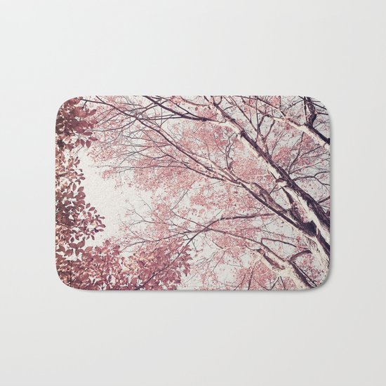 The Trees – Pink n' Bright Bath Mat