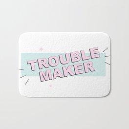 Troublemaker Bath Mat