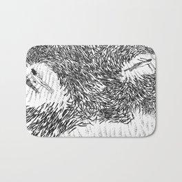 asc 376 -  Les prédatrices (Predatory mammals) Bath Mat
